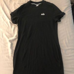 Short black nike dress